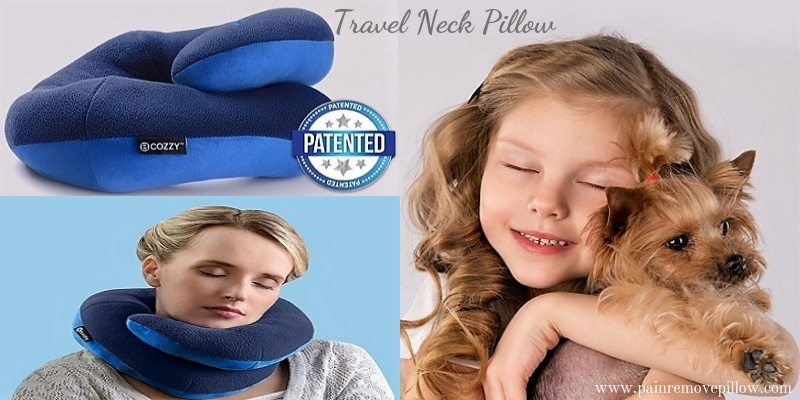 Bcozzy Chin Supporting Travel Neck Pillow