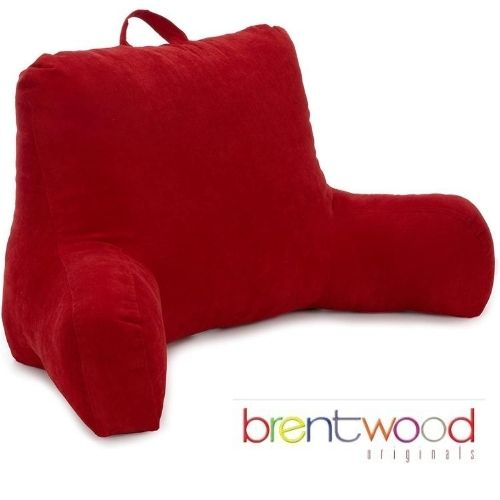 Brentwood Originals Brushed Twill Backrest Pillow