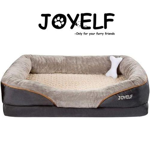 JOYELF Orthopedic Dog Bed Memory Foam Pet Bed