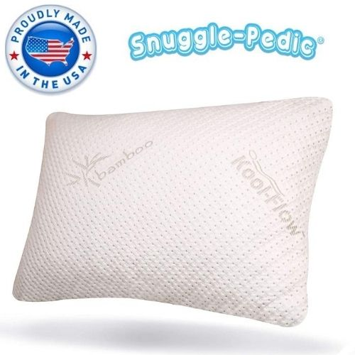 Luxury Bamboo Shredded Memory Foam Pillow Combination