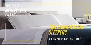 Memory Foam Pillow for Combination Sleepers